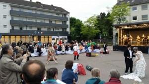 Stadtdinner, Laienspieltheater und Musik - Das Programm vor Peregrinus